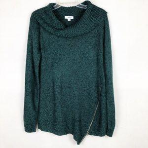 Indigo Women's Cowlneck Sweater